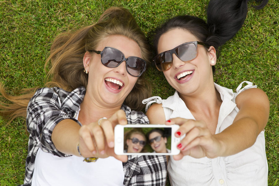 come sorridere in fotografia